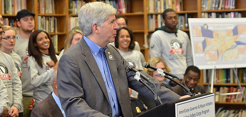 Governor Rick Snyder of Michigan