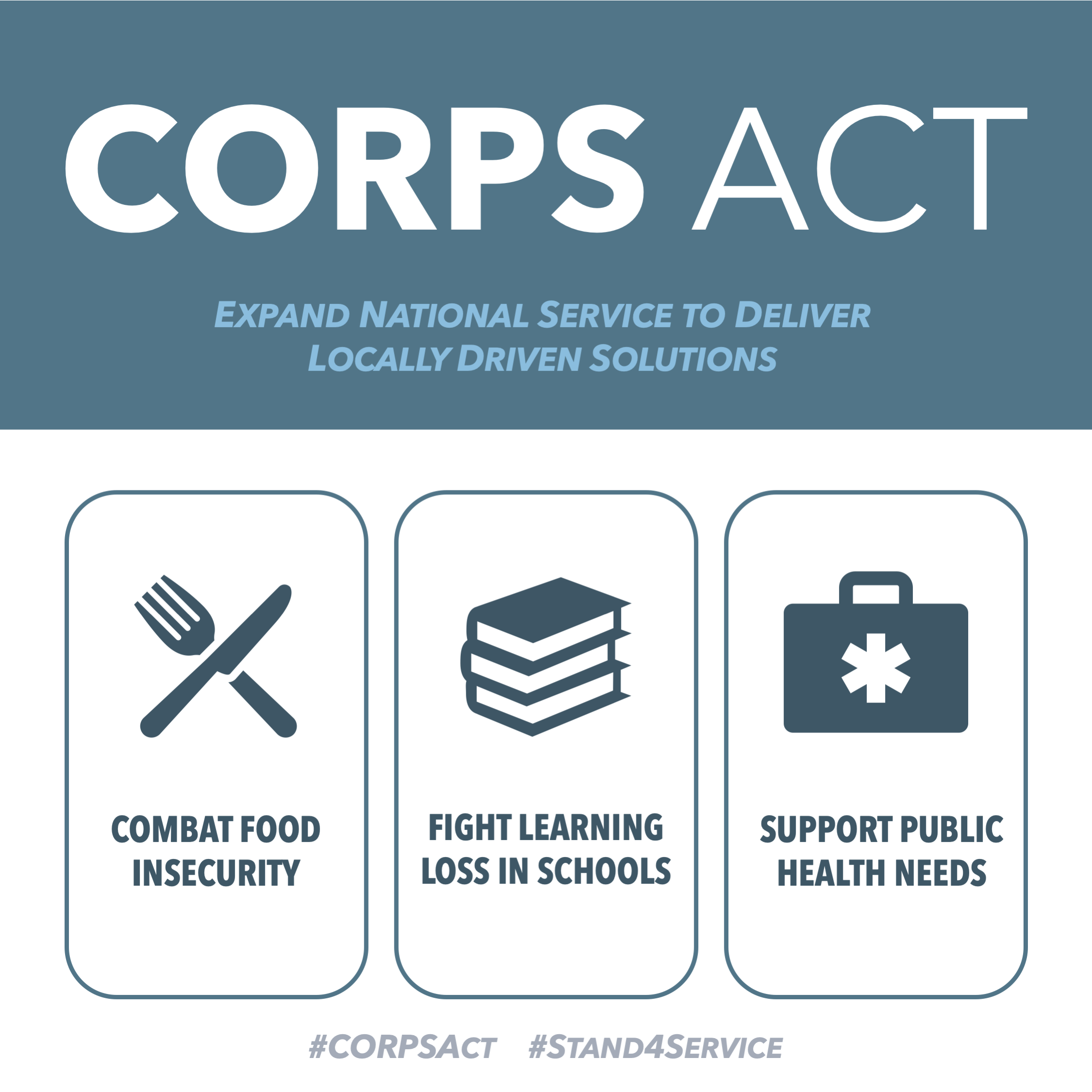 Senate Introduces The CORPS Act