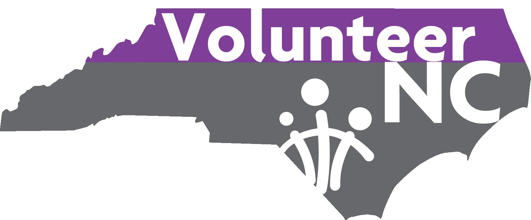 Volunteer North Carolina logo
